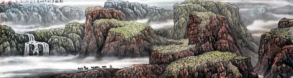 画家高立武先生作品选登-《赶牲灵》