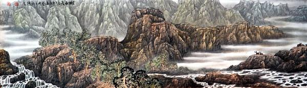 画家高立武先生作品选登-《陇水长流》