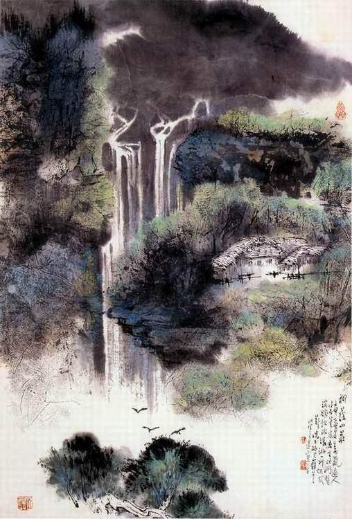 王书杰先生作品欣赏(中国山水画艺术网编辑)图片