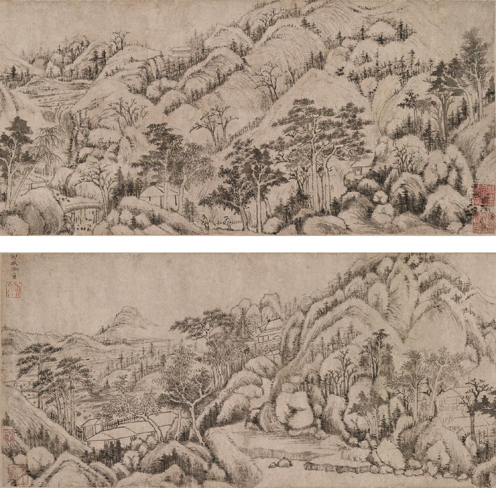 徐贲 作品欣赏(中国山水画艺术网编辑)