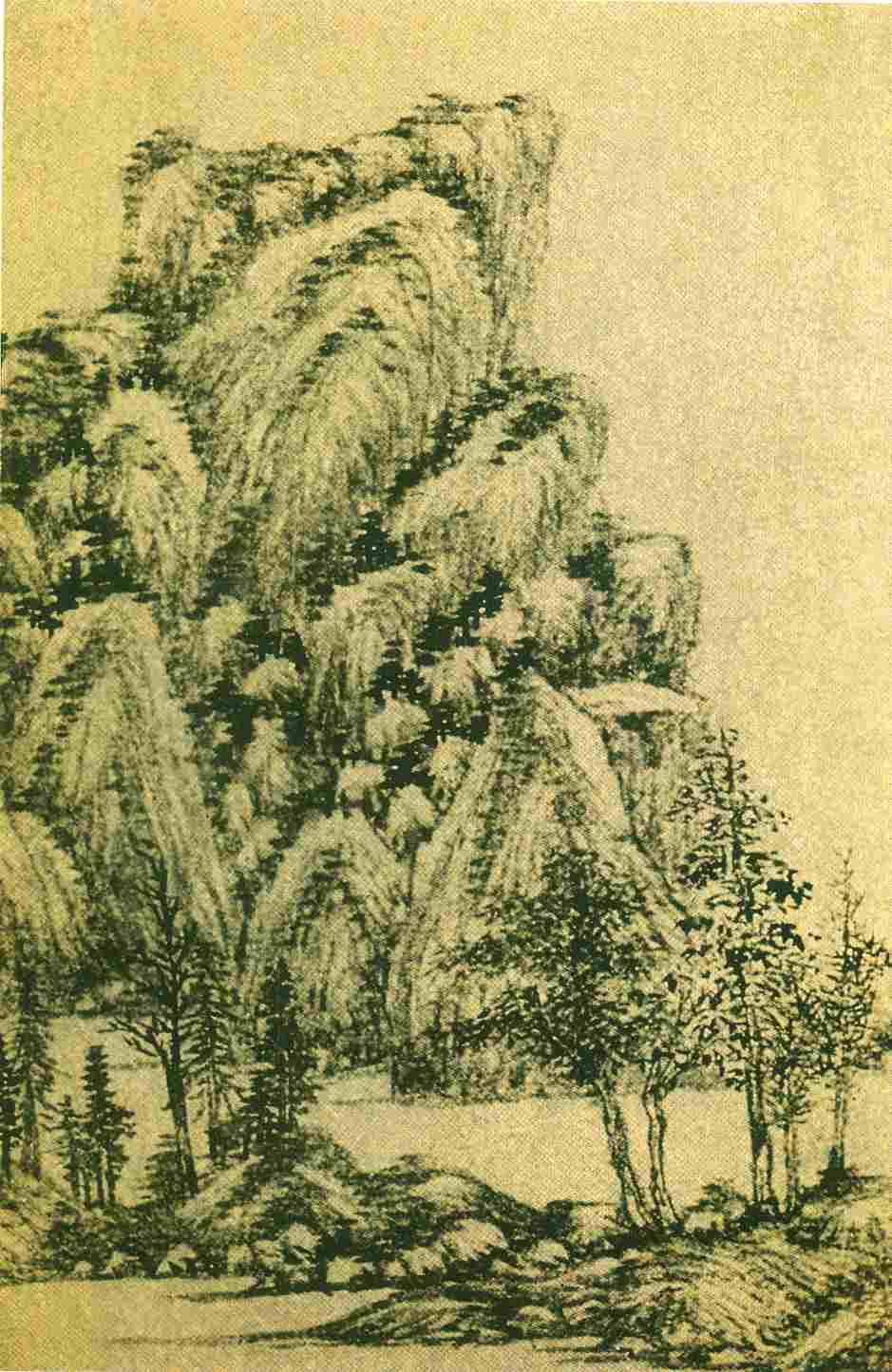 [转载]中国历代山水名家(四)图片