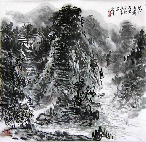 崔振宽作品欣赏(中国山水画艺术网编辑推荐)