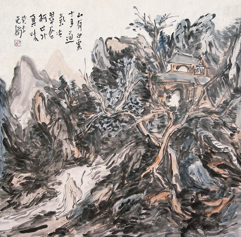 范扬先生作品欣赏(中国山水画艺术网编辑推荐)