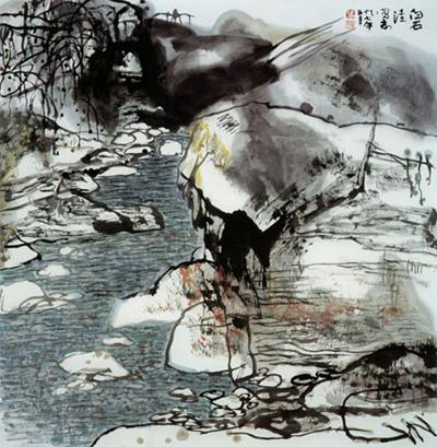 张振学先生作品选登(中国山水画艺术网编辑)