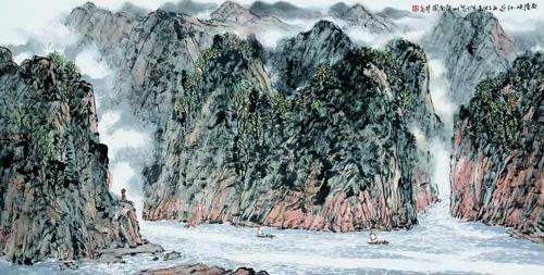方楚乔先生作品选登(中国山水画艺术网编辑推荐)