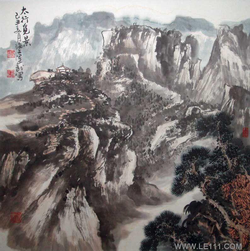 赵豫先生作品选登(中国山水画艺术网编辑推荐)