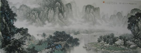 张介宇先生作品选登(中国山水画艺术网编辑)