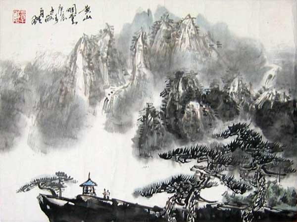 章飚先生作品欣赏(中国山水画艺术网编辑)