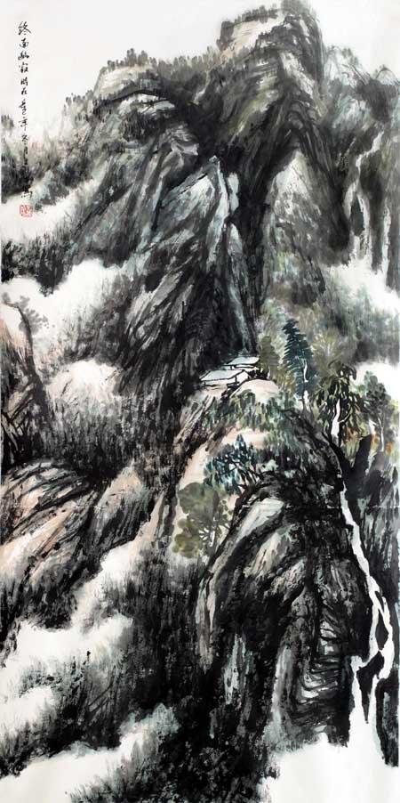 李义水先生作品欣赏-1(中国山水画艺术网编辑)