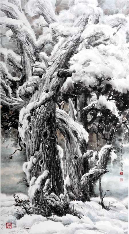 李珂钧  岁月  2008年  158x87