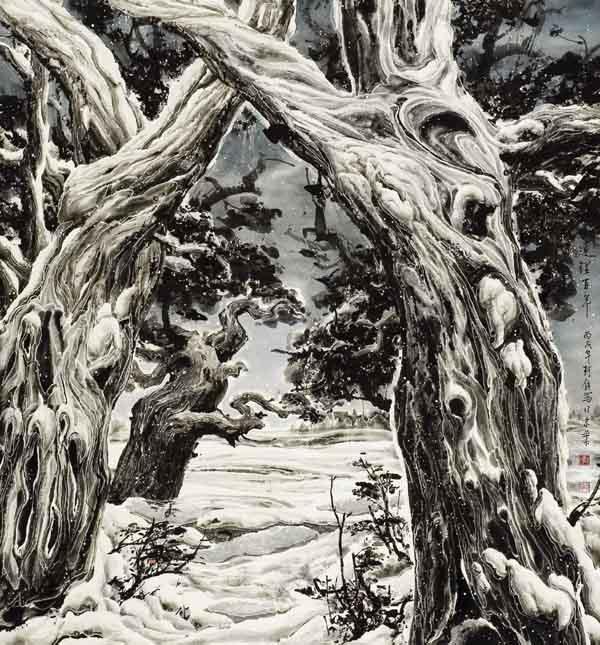 李珂钧《连理百年》 88x88   2008年