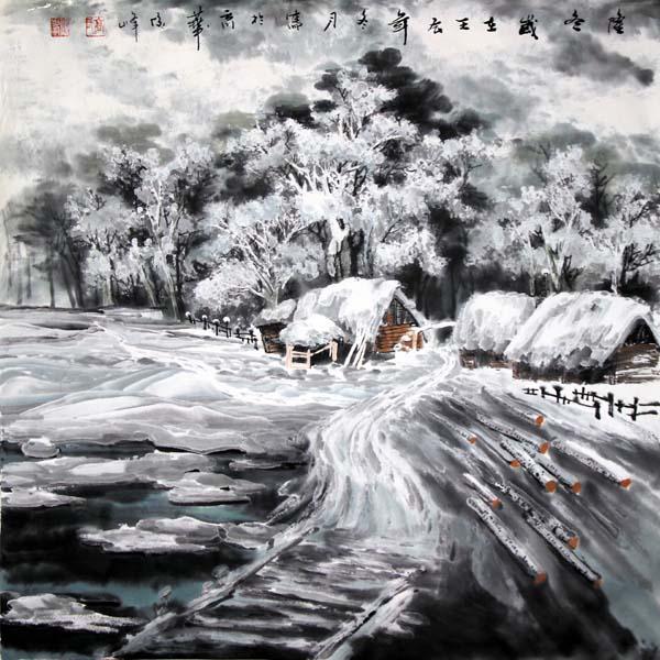 高俊峰   隆冬 68×68cm  2012年