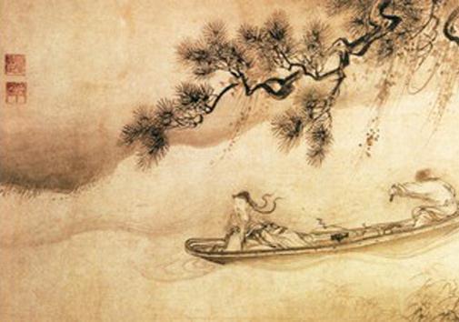 中国风画卷边框素材