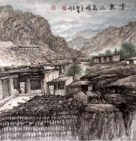 王峰:从大西北走来的山水画名家