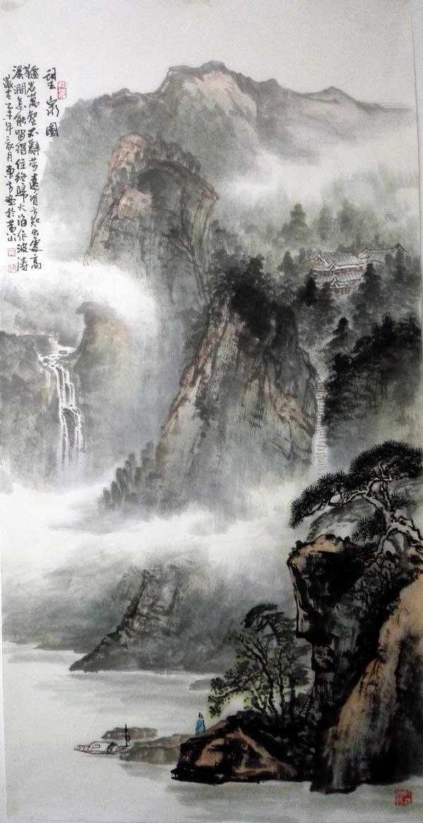 015 刘东方中国山水画作品精选