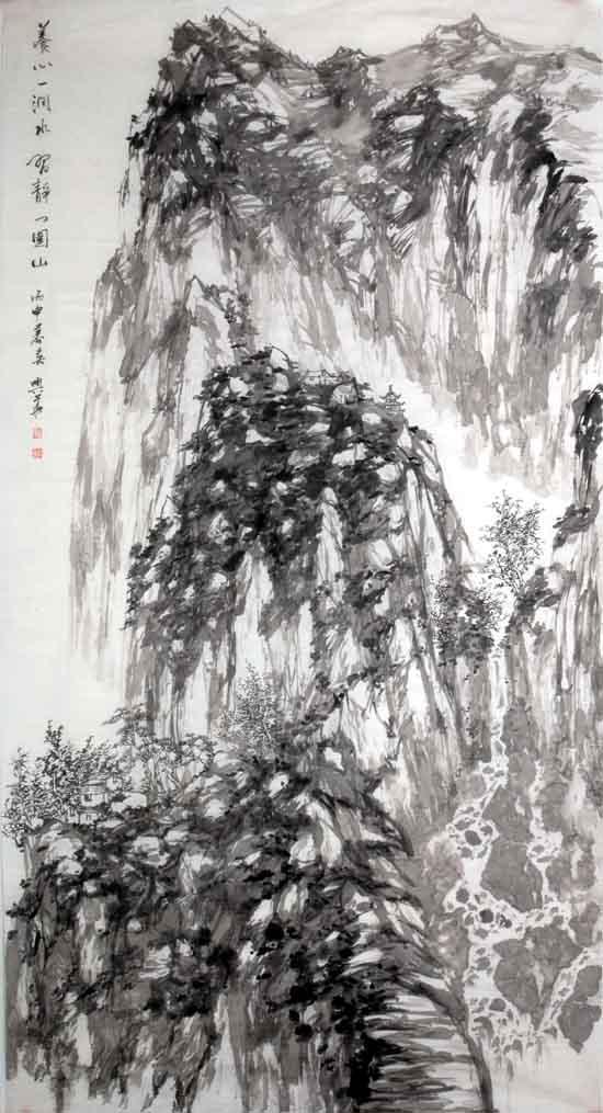 画家李兴华山水画作品欣赏5