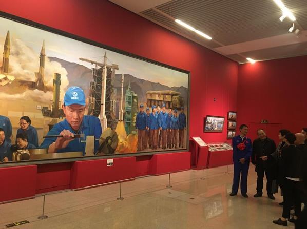 """""""最美中国人大型美术作品展""""在国博隆重开幕"""