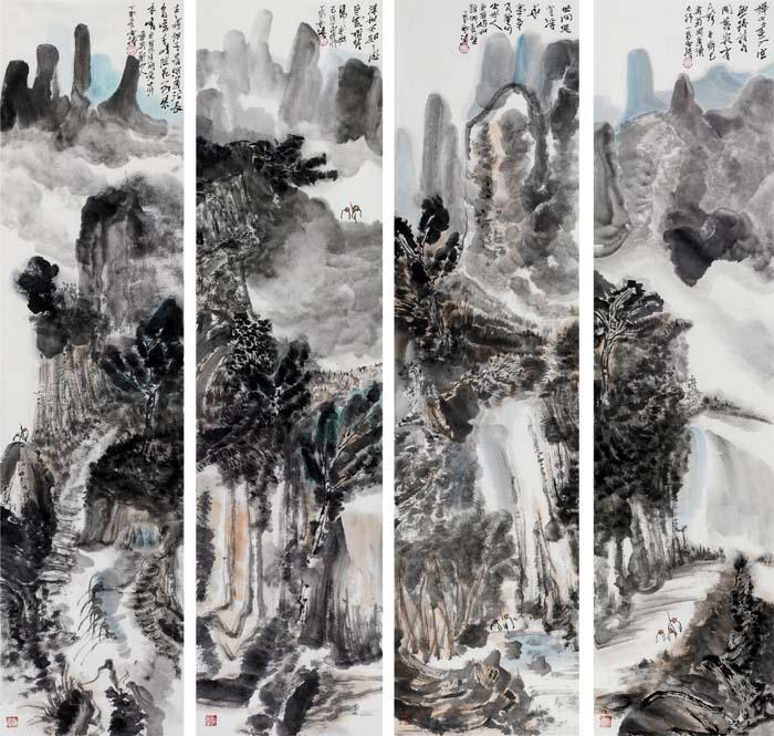 山水画家高雪涛先生作品欣赏