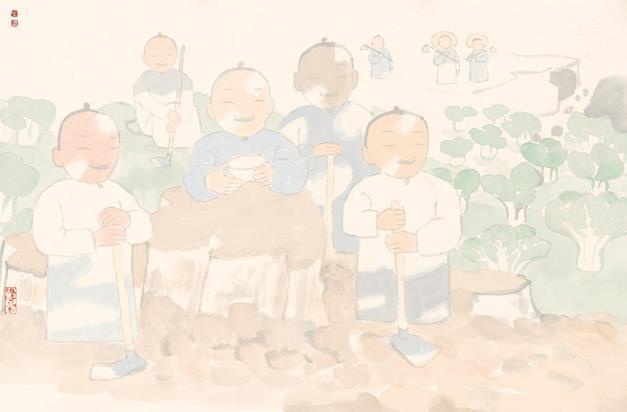 大家之路中国画作品展本月27日将在京展出
