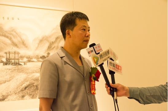 """""""2017深圳中华砚文化暨王继良山水画展""""隆重举行"""