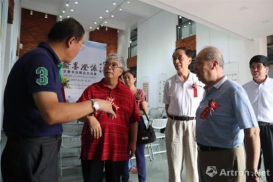 北京 唐山书法家精品交流展 在唐山开幕