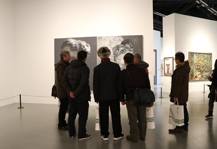 绿色时空――当代美术名家上海邀请展在上海开幕