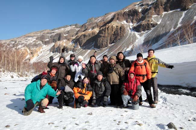 2010年冰雪画派在长白山写生