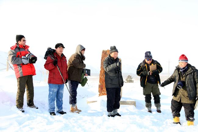 2011年冰雪画派在阿尔山写生
