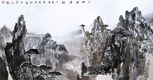 西海清韵 69×138cm  2016年