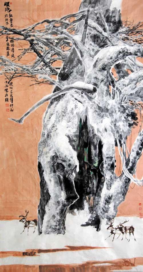 加宏杰   2011年196X96cm