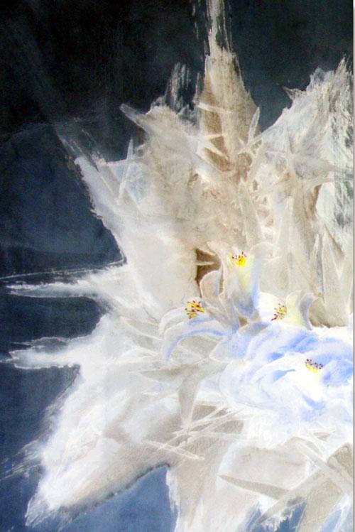 张军   蓝色回忆-1   2008年  68x46