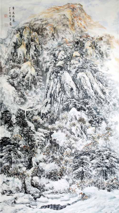 东岳瑞气180x97(cm)2014年