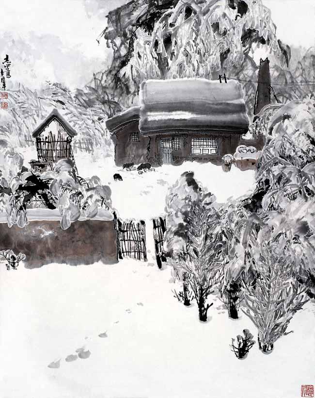 1981年魂系雪乡 118x90