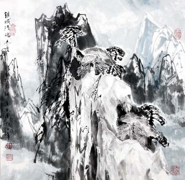 2008年银域清魂    68x68