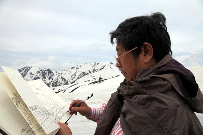 2012年在日本立山