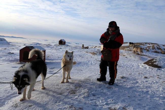 于志学在北极
