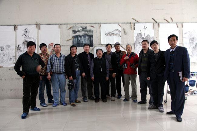 2012年10月冰雪画派在教学基地回炉集训