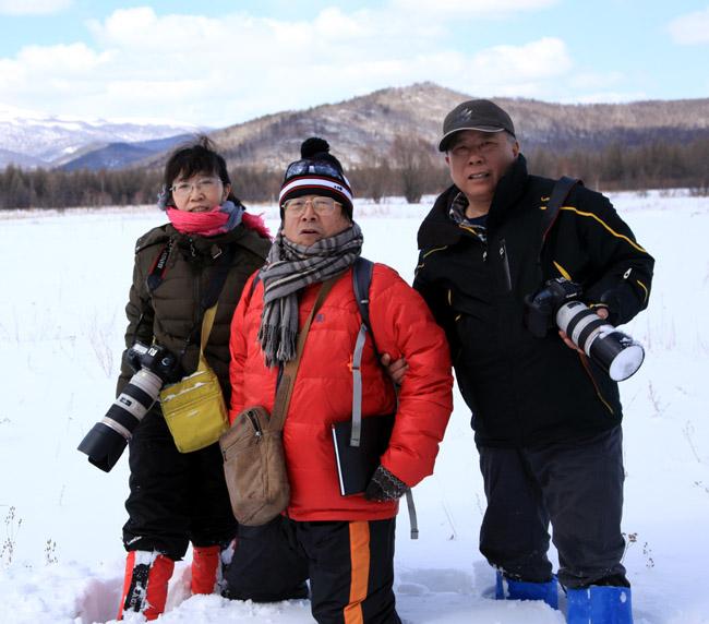 2013年冰雪画派在内蒙古根河中国冷极点写生