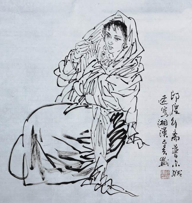 舒湘汉先生写生作品