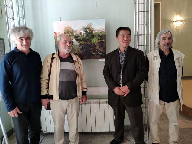 西源东境——朱建成风景油画作品巡展走进乌克兰